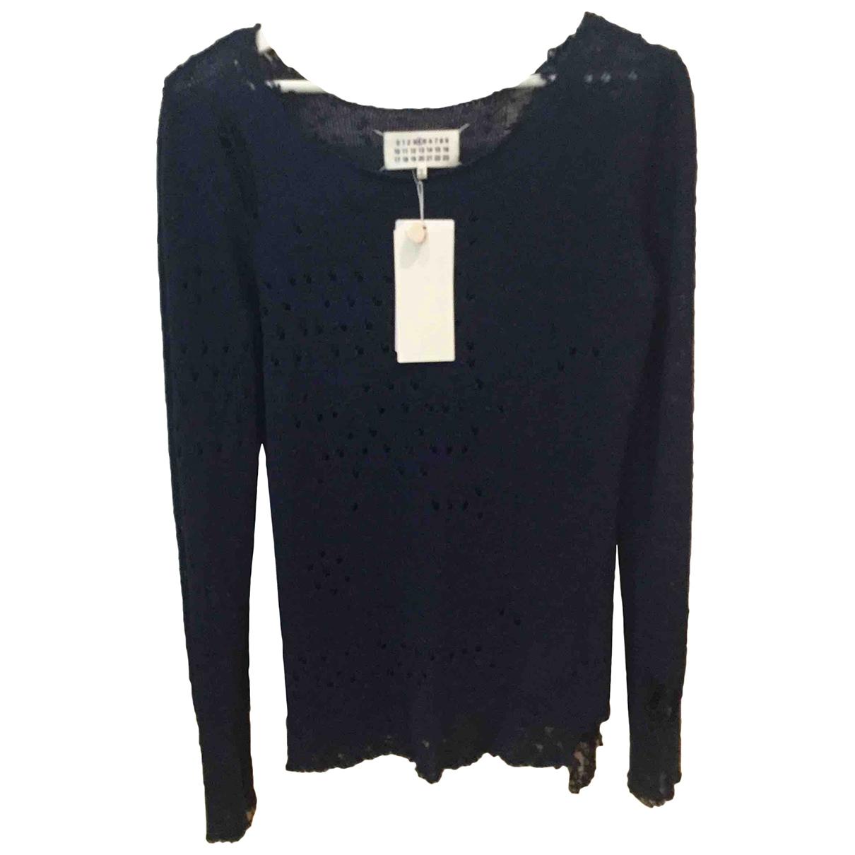 Maison Martin Margiela \N Blue Silk Knitwear for Women L International