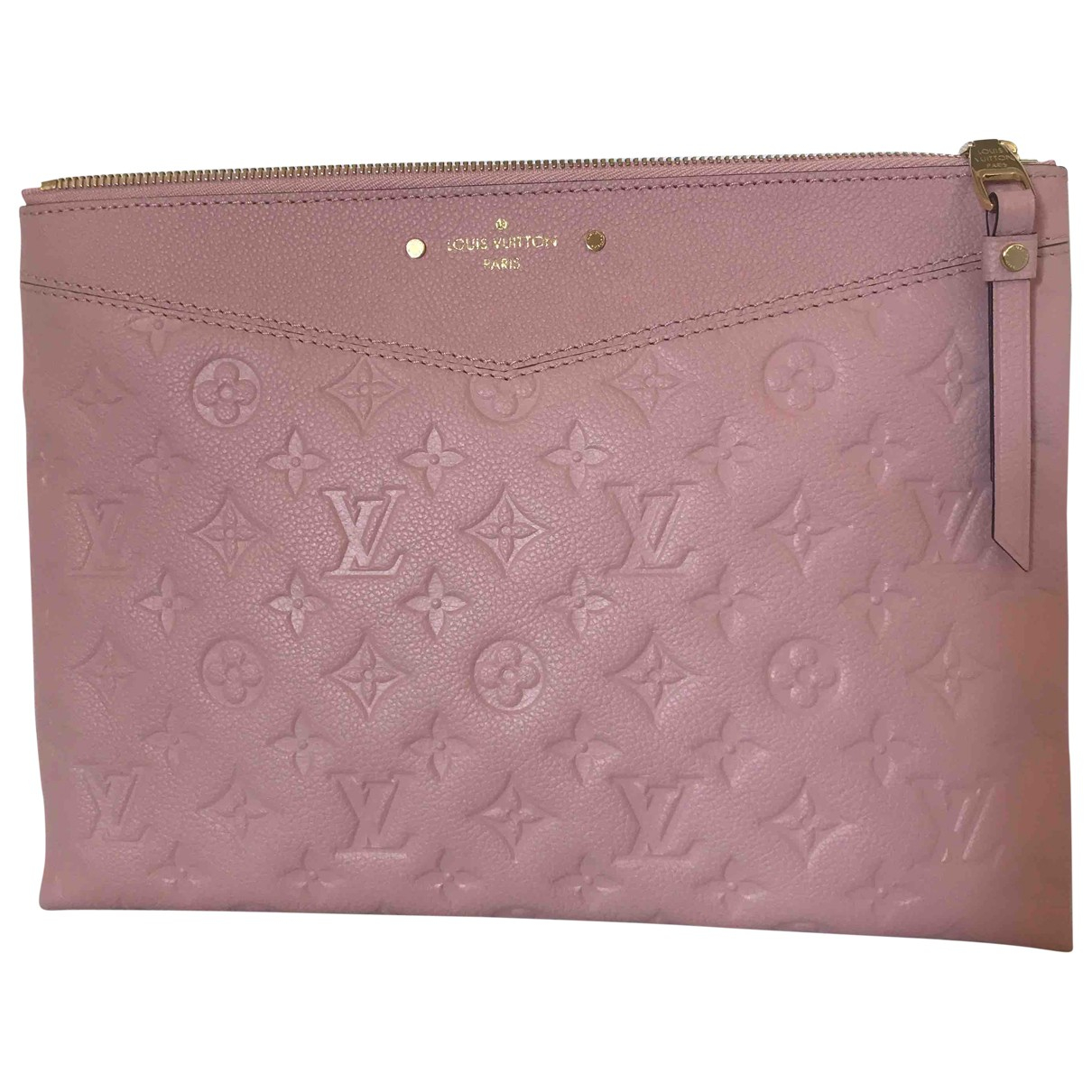 Louis Vuitton N Pink Leather Clutch bag for Women N