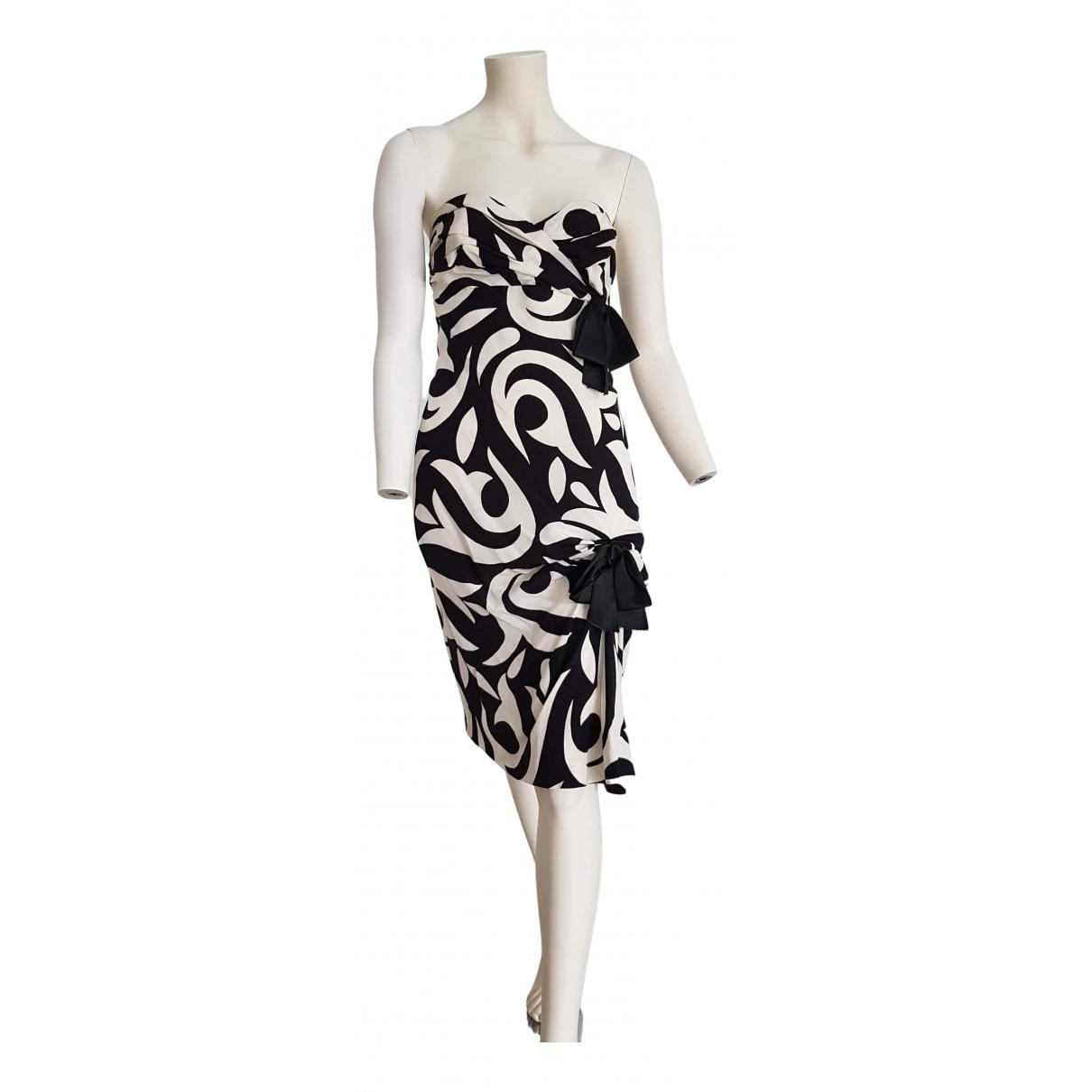 Chanel \N White Silk dress for Women 42 IT