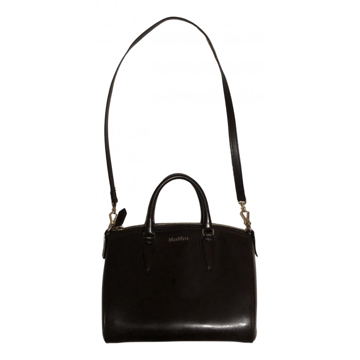 Max Mara N Brown Leather handbag for Women N
