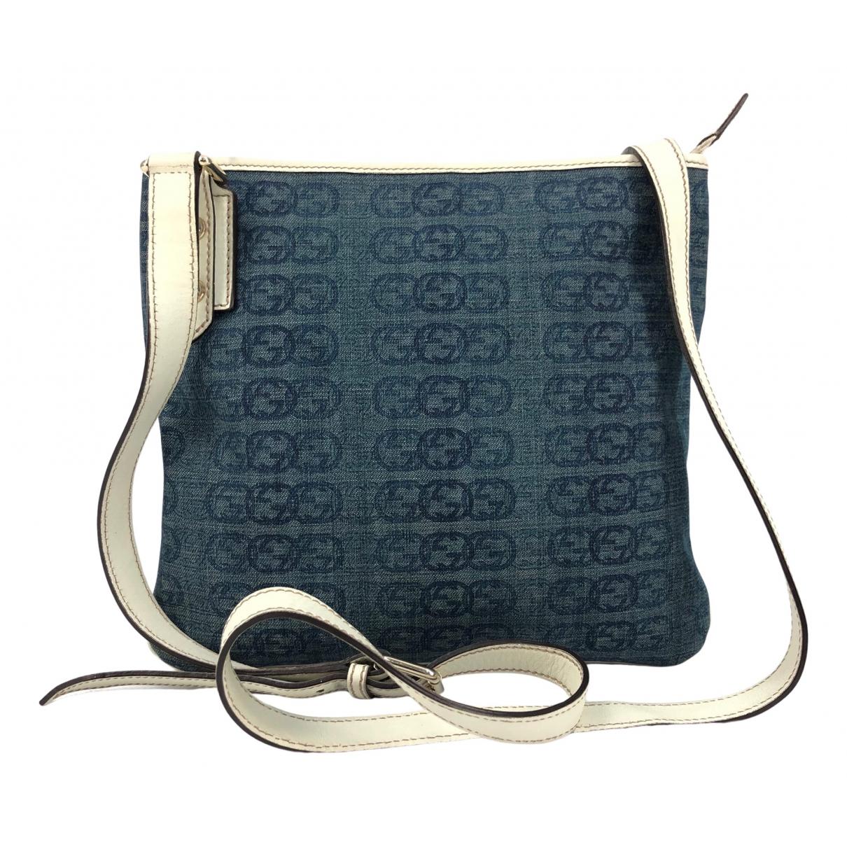 Gucci \N Blue Denim - Jeans handbag for Women \N