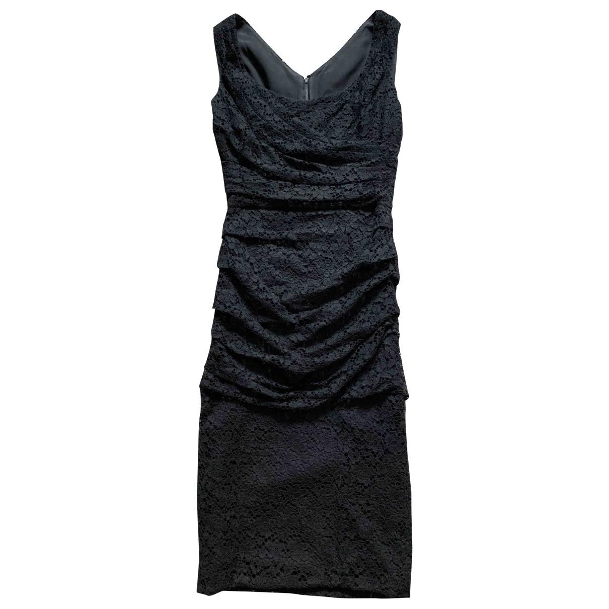 Dolce & Gabbana \N Black Lace dress for Women 36 IT