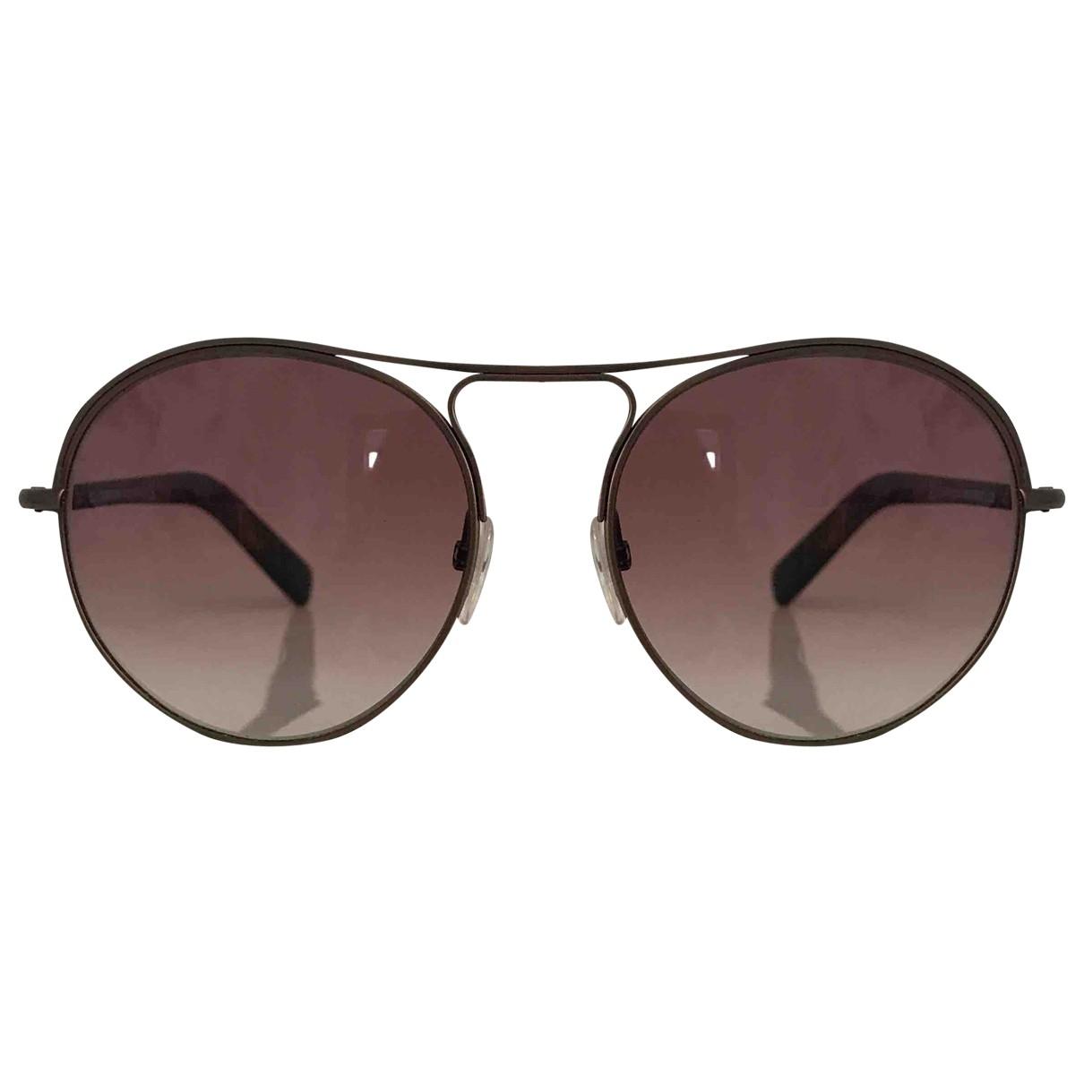 Tom Ford \N Brown Metal Sunglasses for Men \N