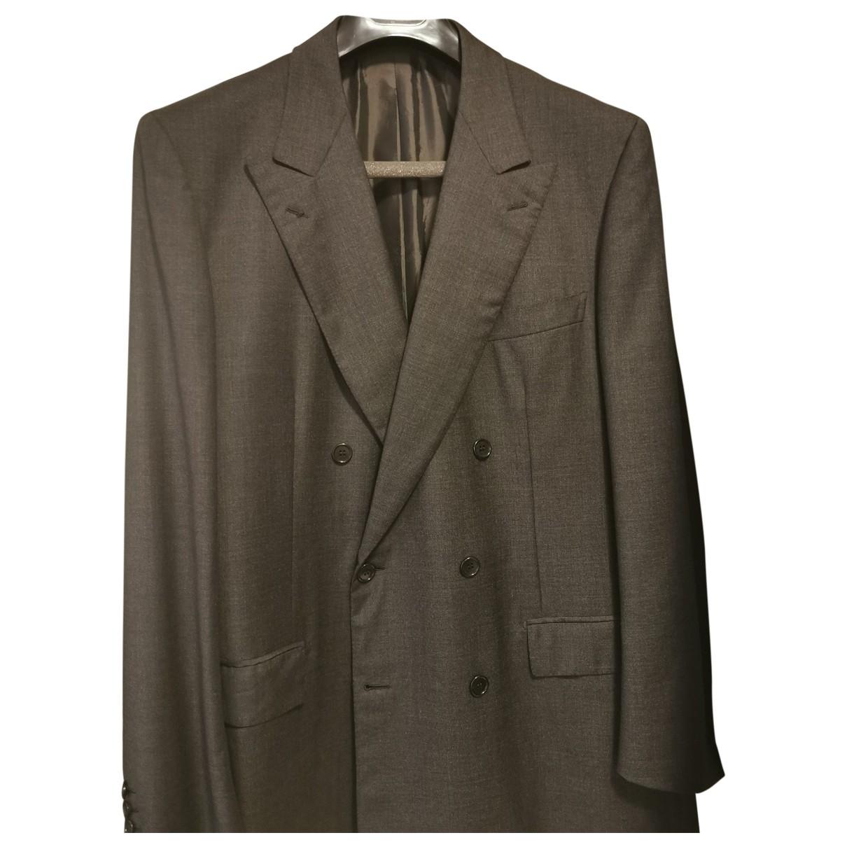 Brioni \N Grey Wool jacket  for Men 52 IT