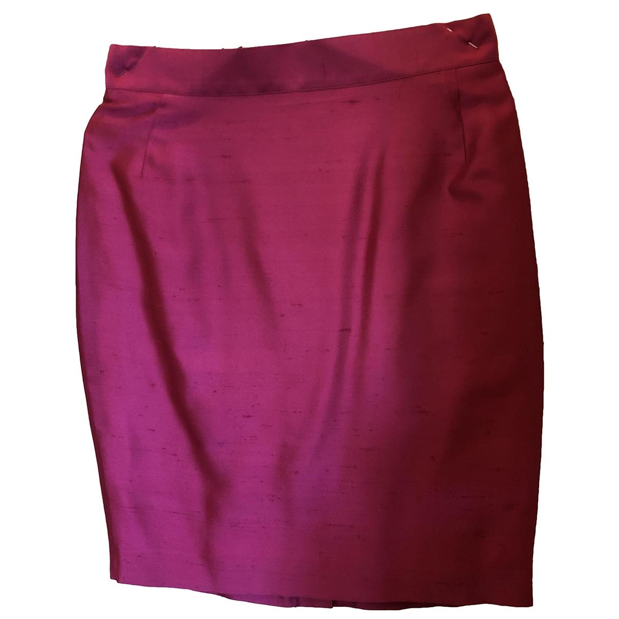 Byblos - Jupe   pour femme en soie - rose