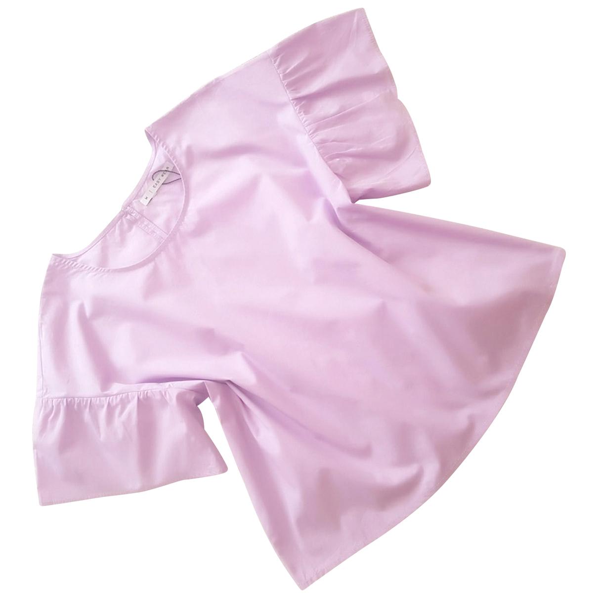 - Top   pour femme en coton - violet