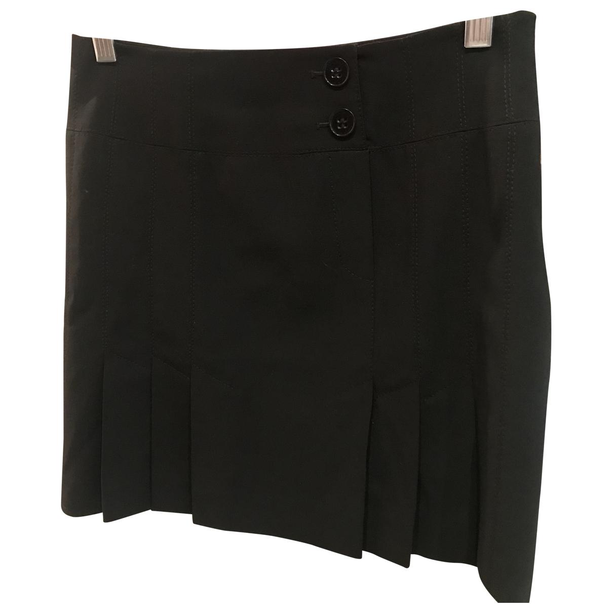 Karen Millen - Jupe   pour femme en laine - noir