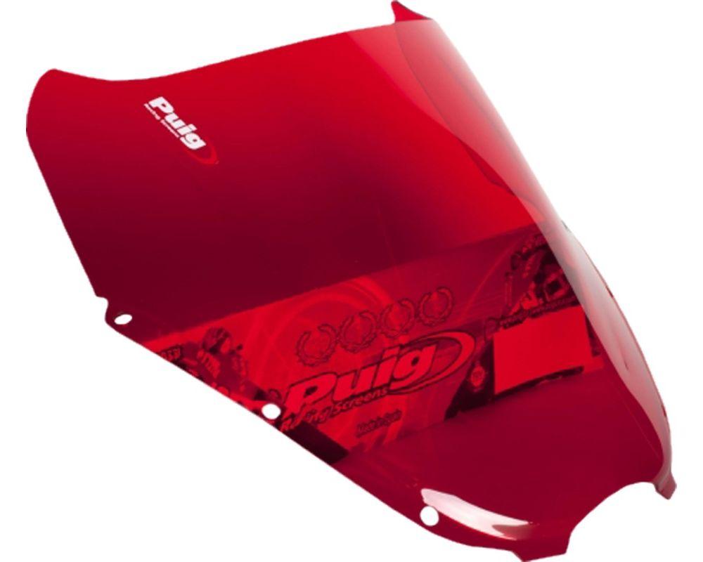 Puig 4184R Racing Windscreen - Red Hyosung GT650R 2006