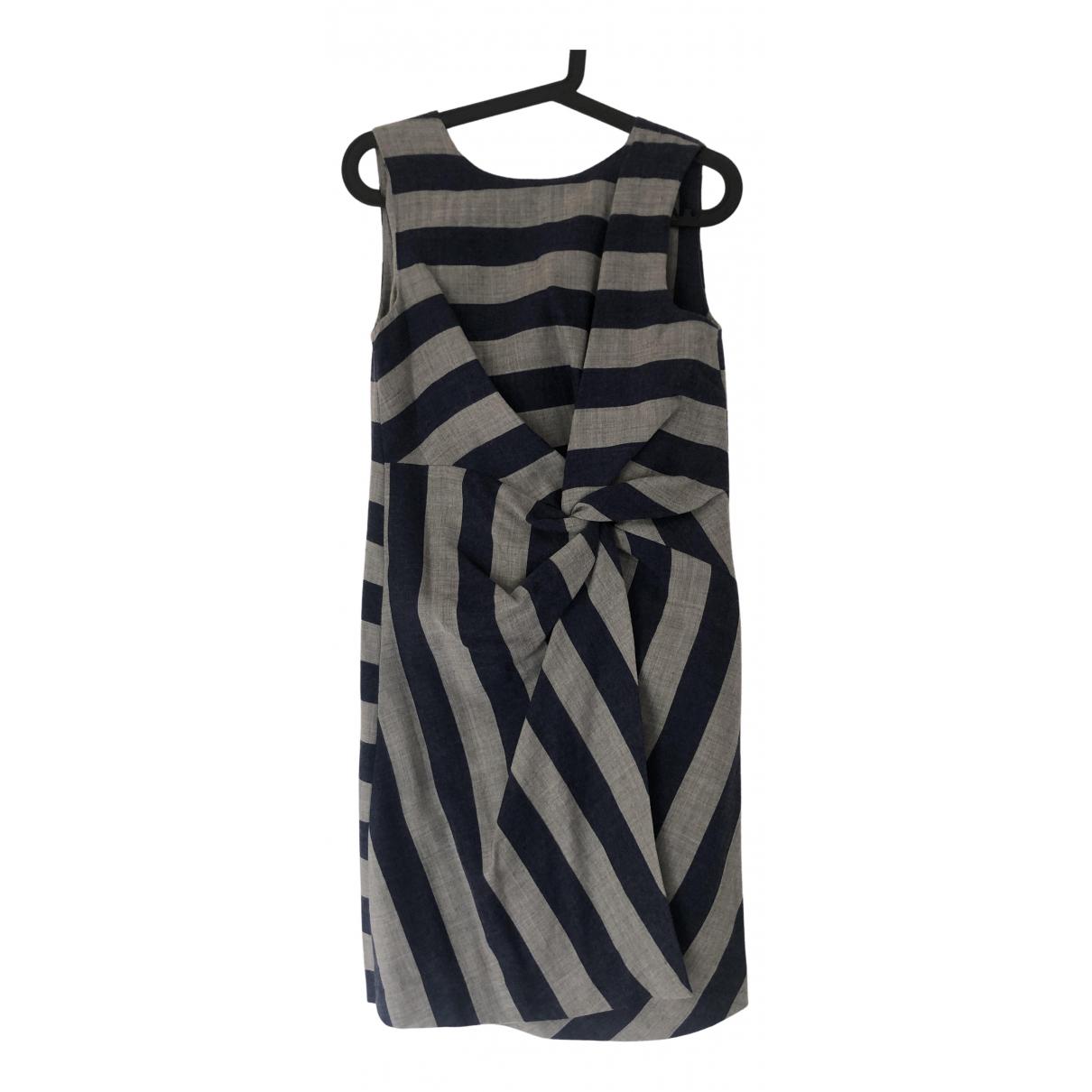 Msgm \N Kleid in  Grau Wolle