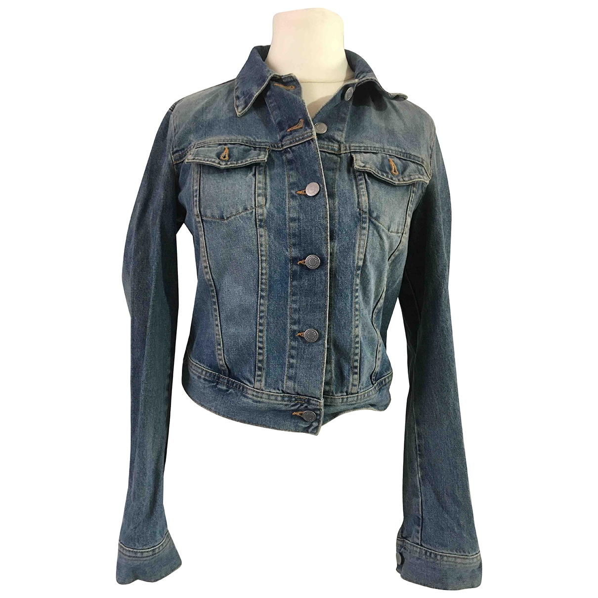 Non Signe / Unsigned \N Jacke in Denim - Jeans
