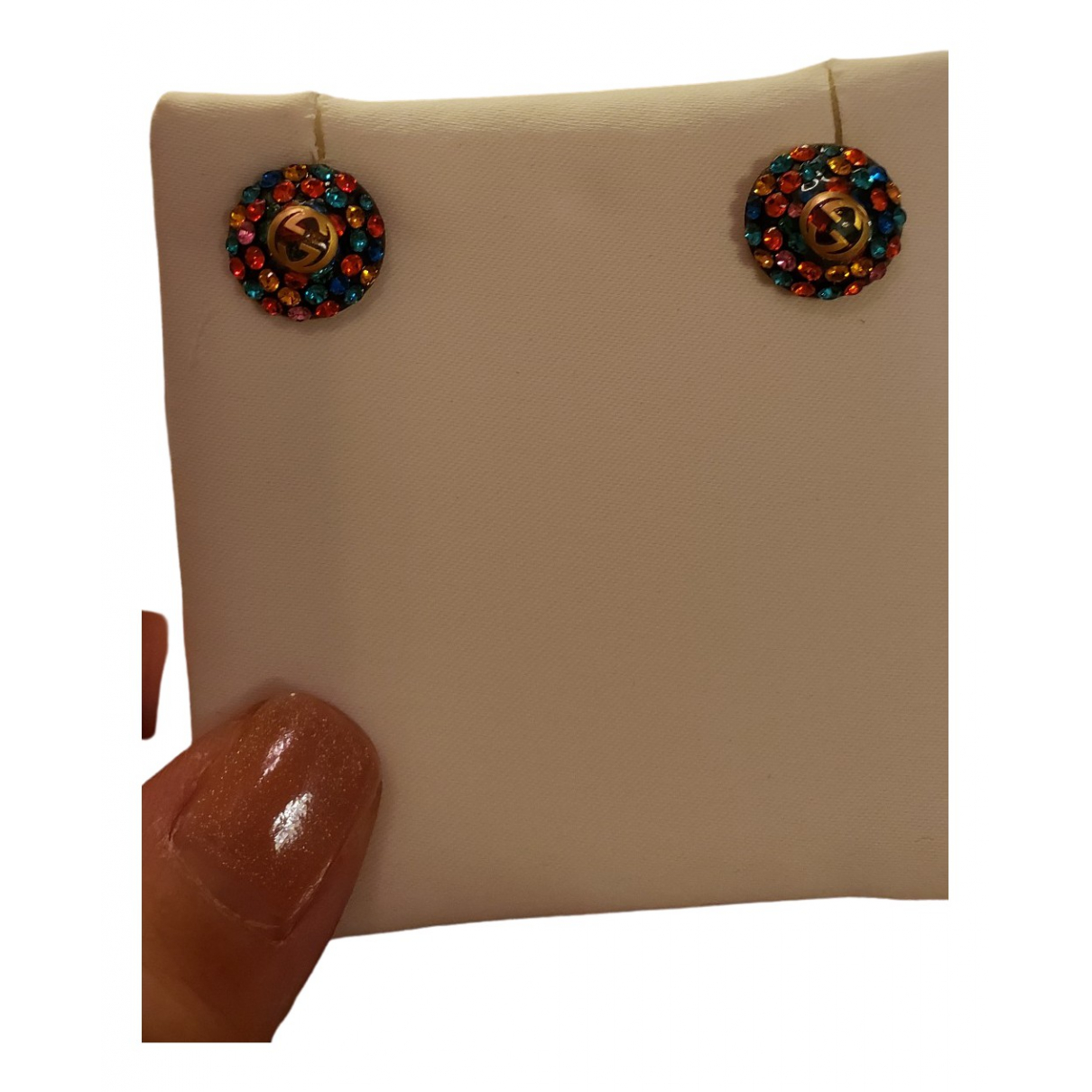 Gucci \N Multicolour Gold plated Earrings for Women \N