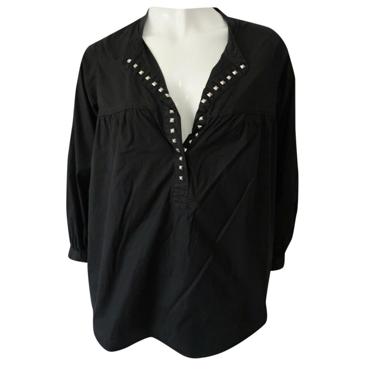 Zadig & Voltaire \N Black Cotton  top for Women 12 UK