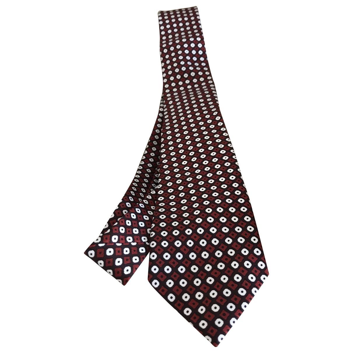 Burberry \N Red Silk Ties for Men \N