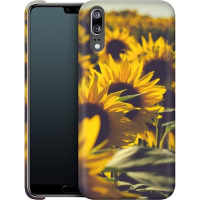 Huawei P20 Smartphone Huelle - Sunflower 2 von Joy StClaire