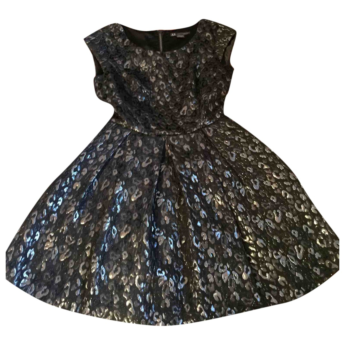 Emporio Armani - Robe   pour femme - metallise
