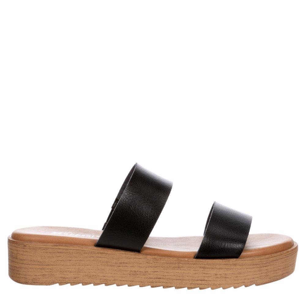 Xappeal Womens Dash Platform Slide Sandal