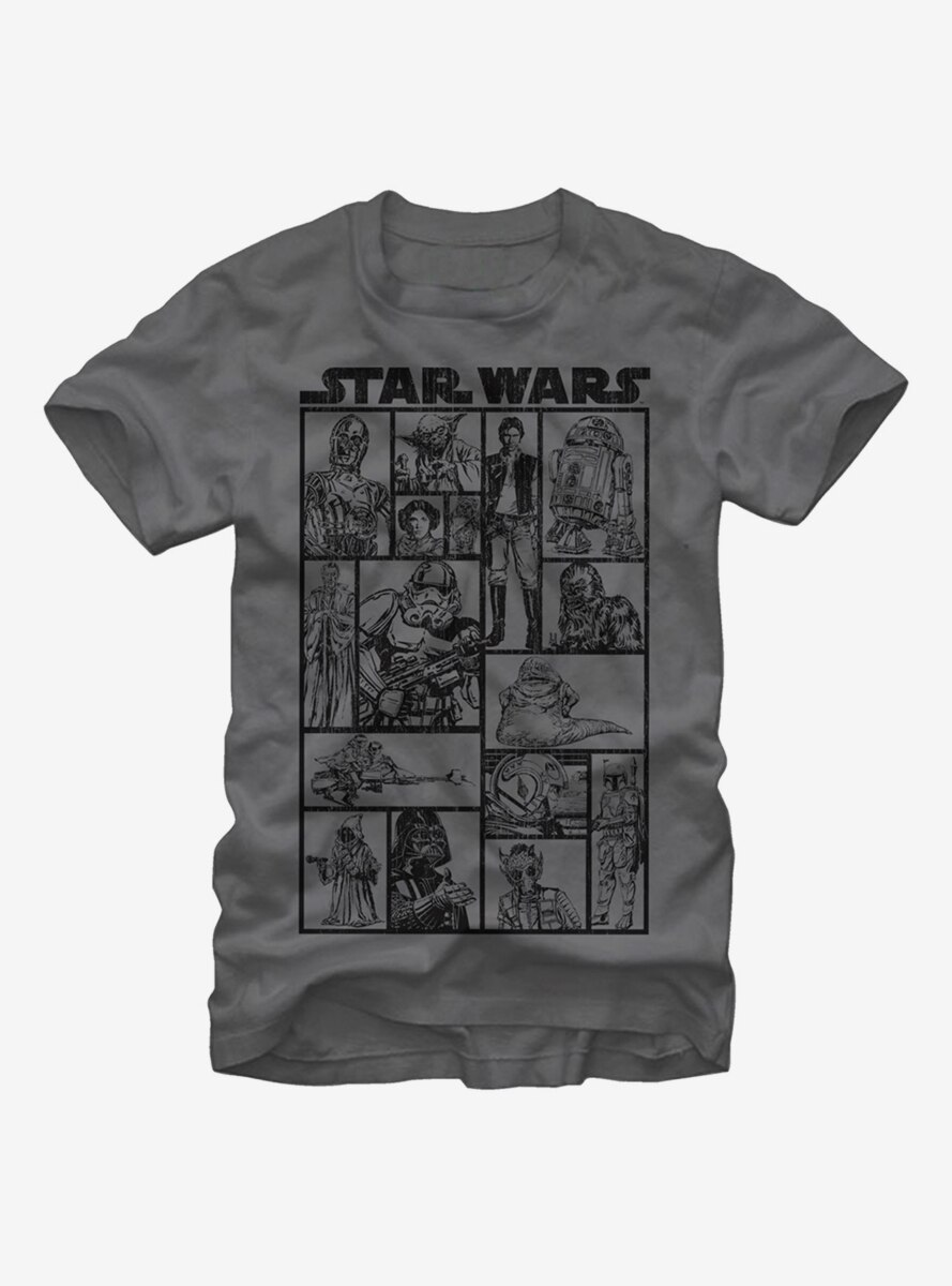 Star Wars Classic Character Group T-Shirt