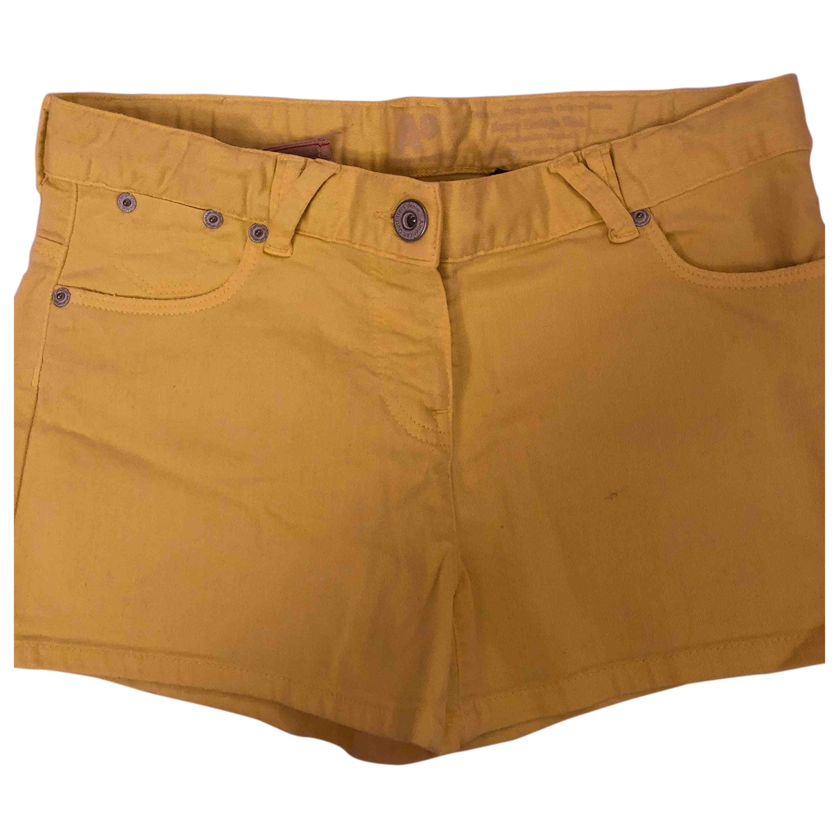 American Outfitters \N Yellow Cotton Shorts for Kids 16 years - M UK