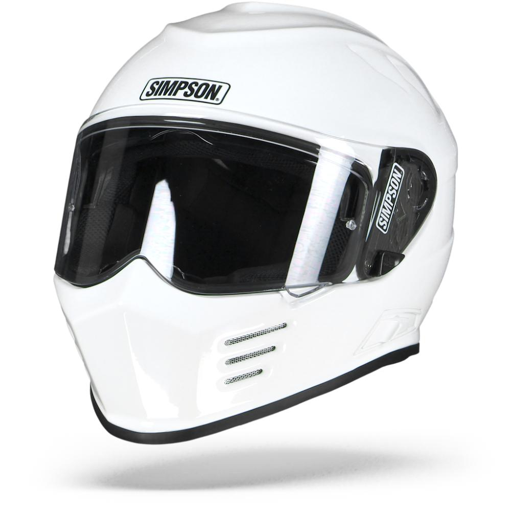 Simpson Venom Solid Blanco XL