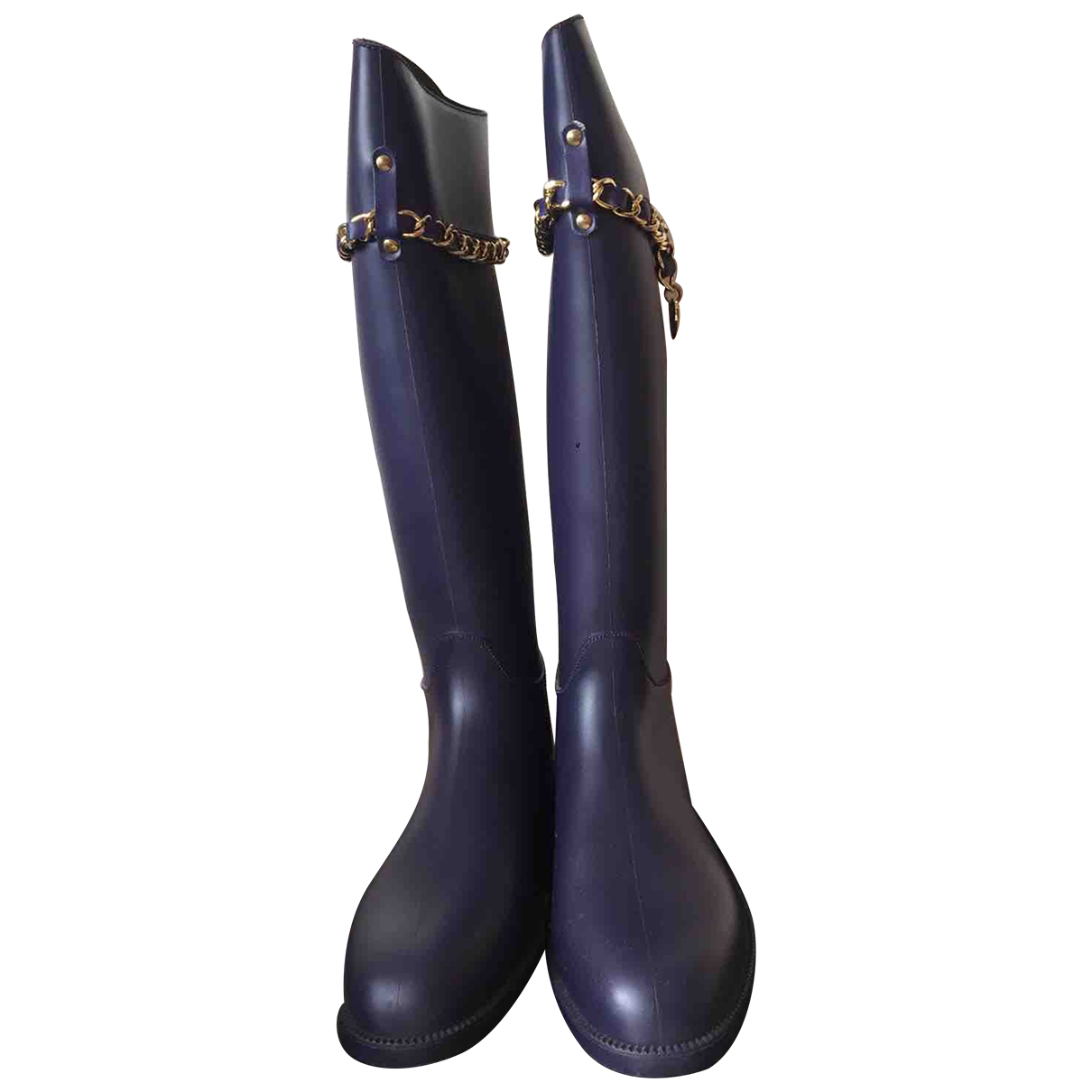 Moschino Love \N Purple Boots for Women 39 IT