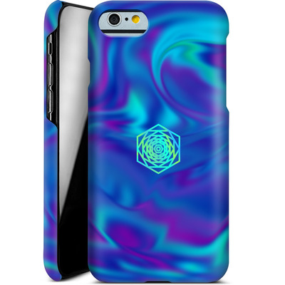 Apple iPhone 6s Smartphone Huelle - PSYCHEDELIC BLUE von Berlin Techno Collective