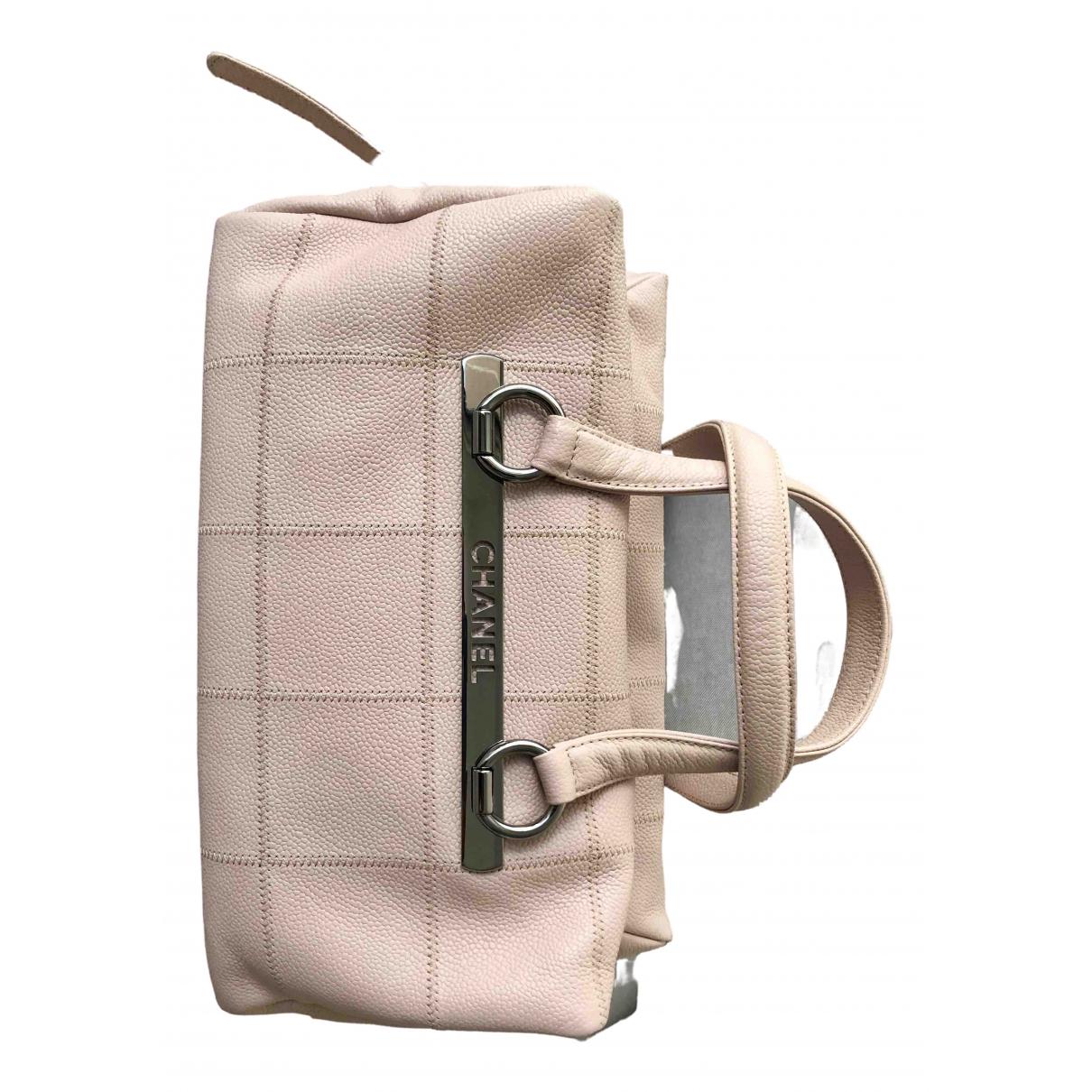 Chanel \N Pink Leather handbag for Women \N