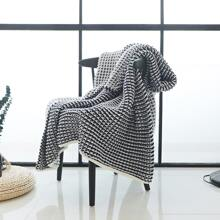 Waffle Knitted Blanket