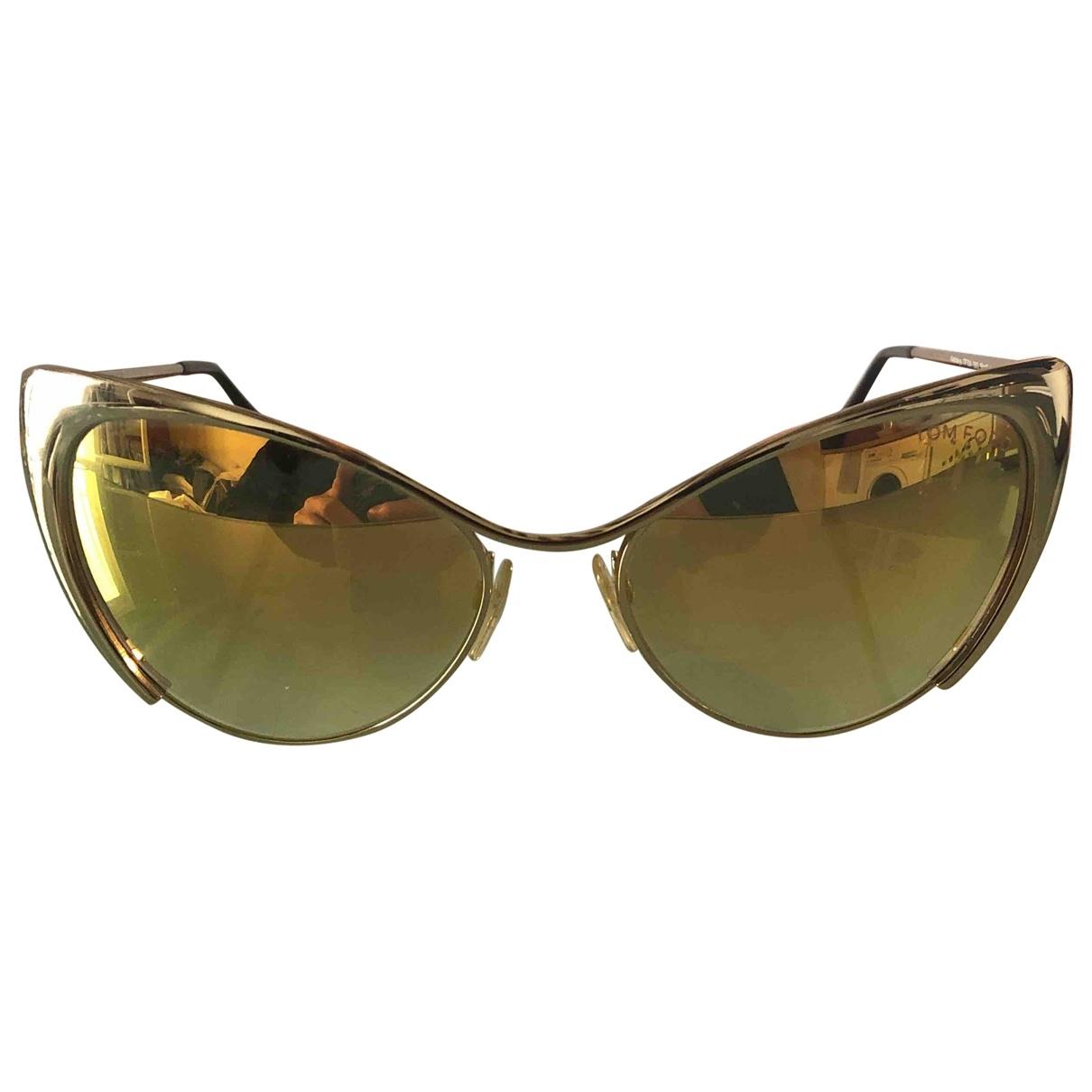 Tom Ford \N Sonnenbrillen in  Gold Metall