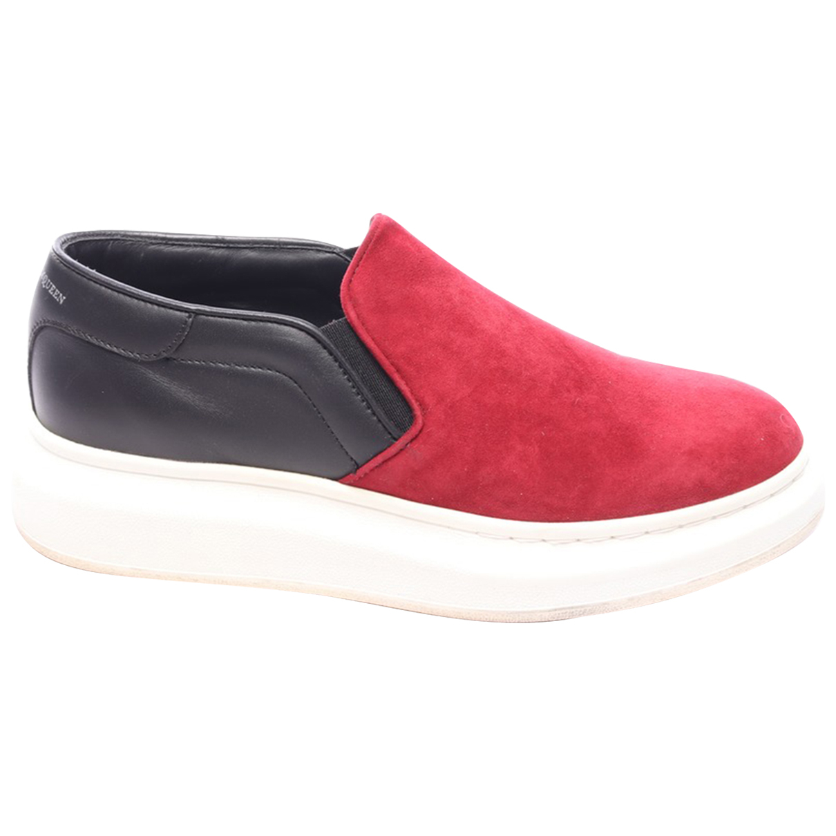 Alexander Wang \N Red Leather Trainers for Women 38 EU