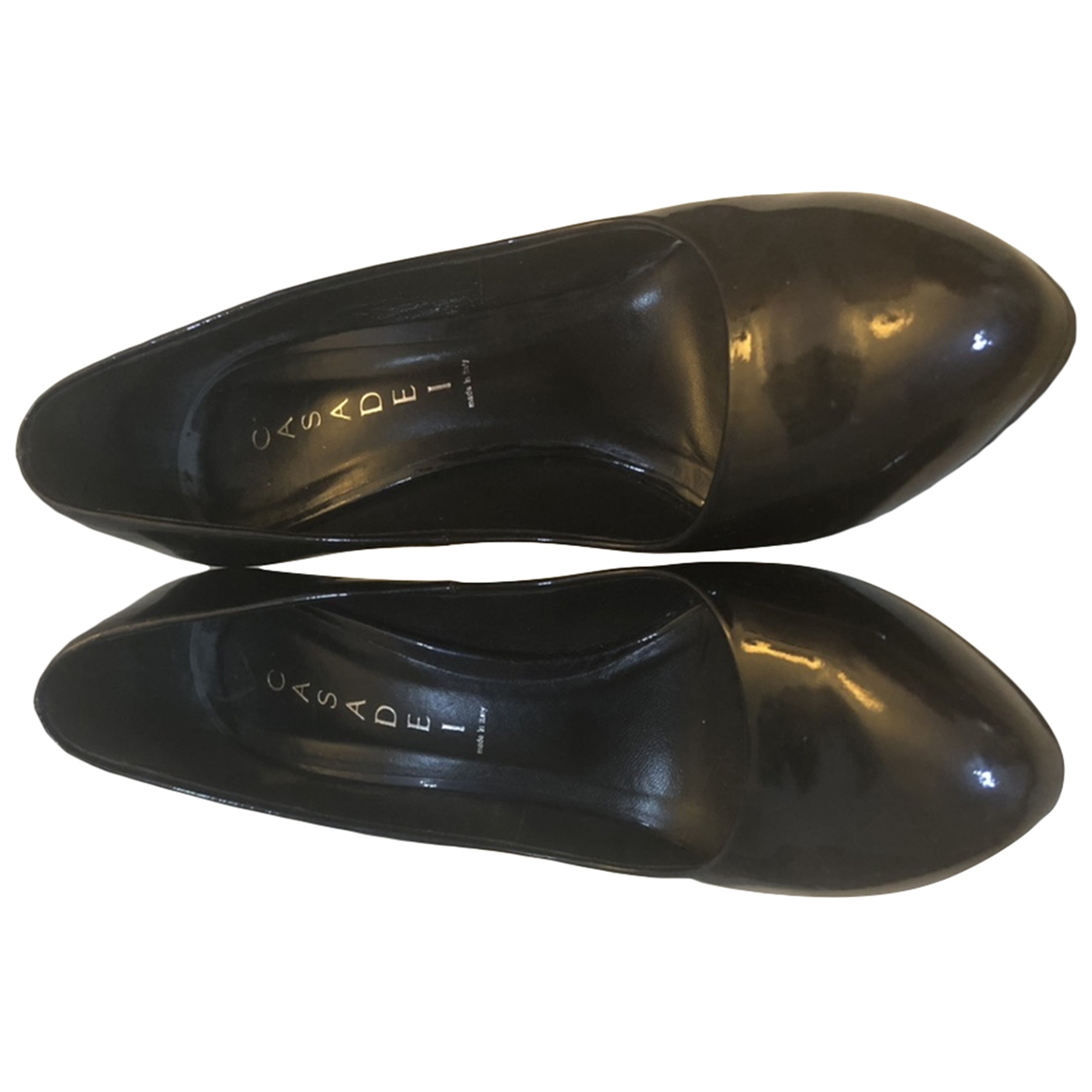 Casadei \N Black Patent leather Heels for Women 9 UK