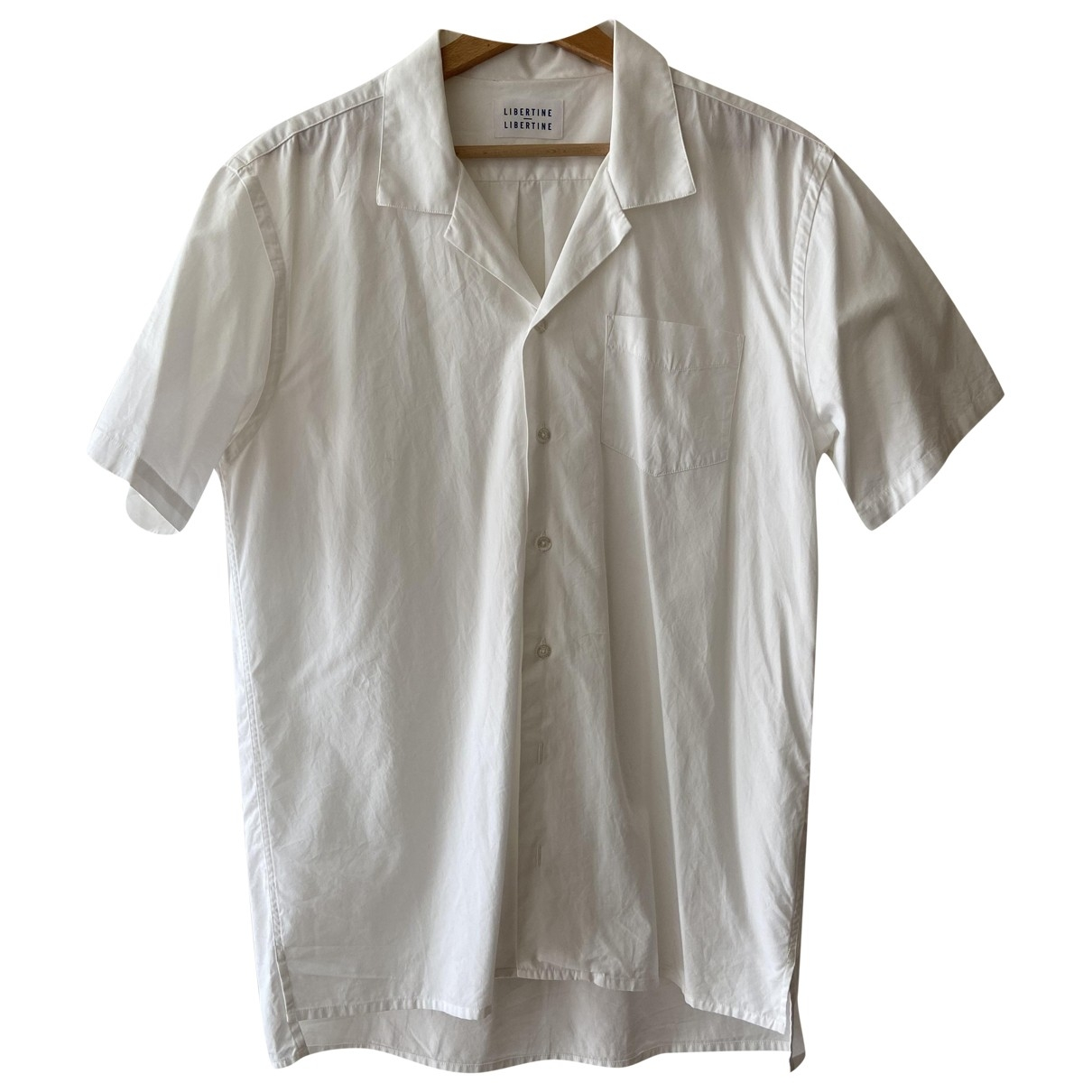 Libertine Libertine - Chemises   pour homme en coton - blanc