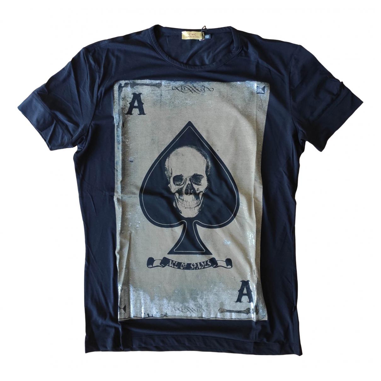 Cnc - Tee shirts   pour homme en coton - noir