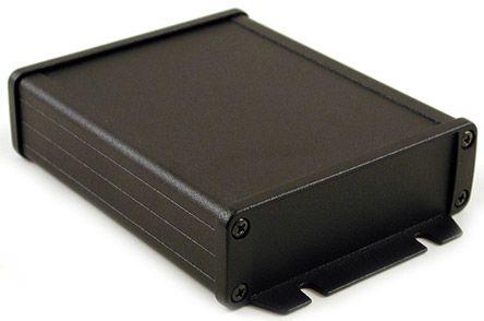 Hammond 1457, Black Aluminium Enclosure, IP65, 34.9 x 106.9 x 151.6mm