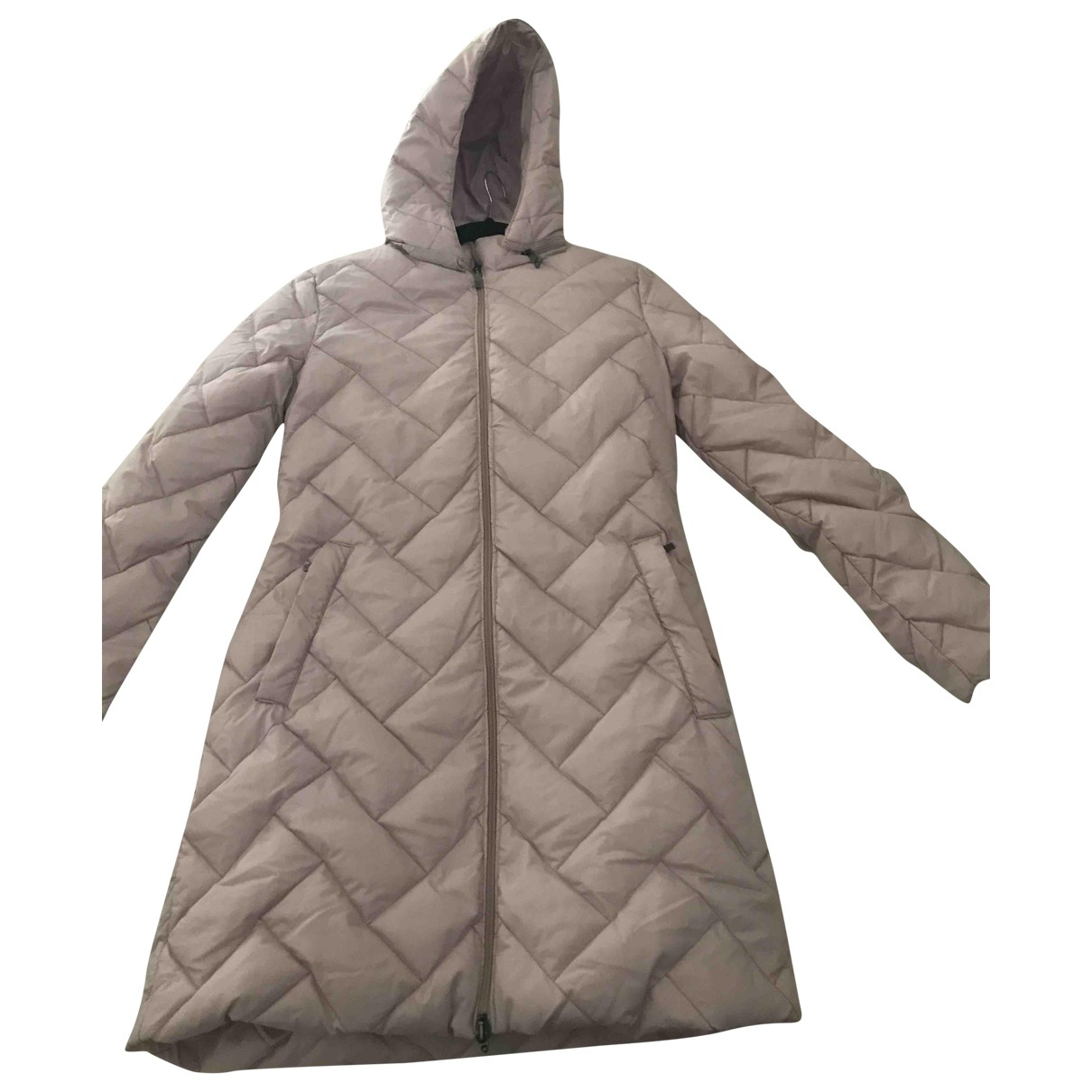 Moncler \N Maentel in  Rosa Polyester