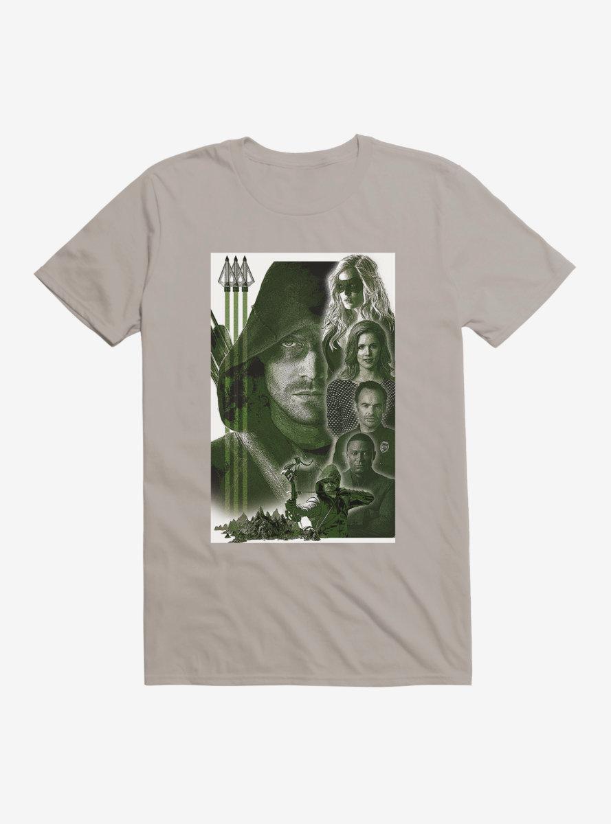 DC Comics Arrow Cast T-Shirt