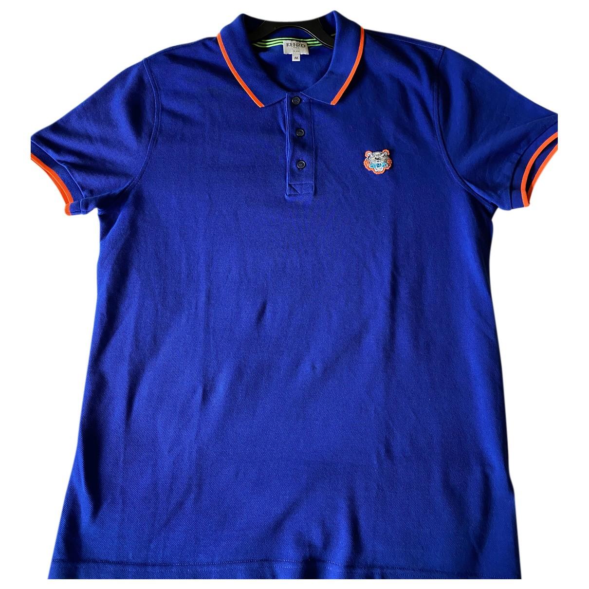 Kenzo \N Poloshirts in  Blau Baumwolle