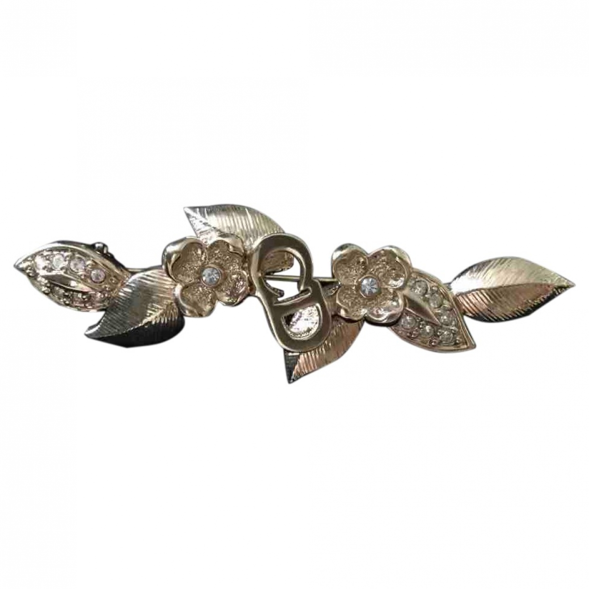 Dior \N Gold Metal Pins & brooches for Women \N