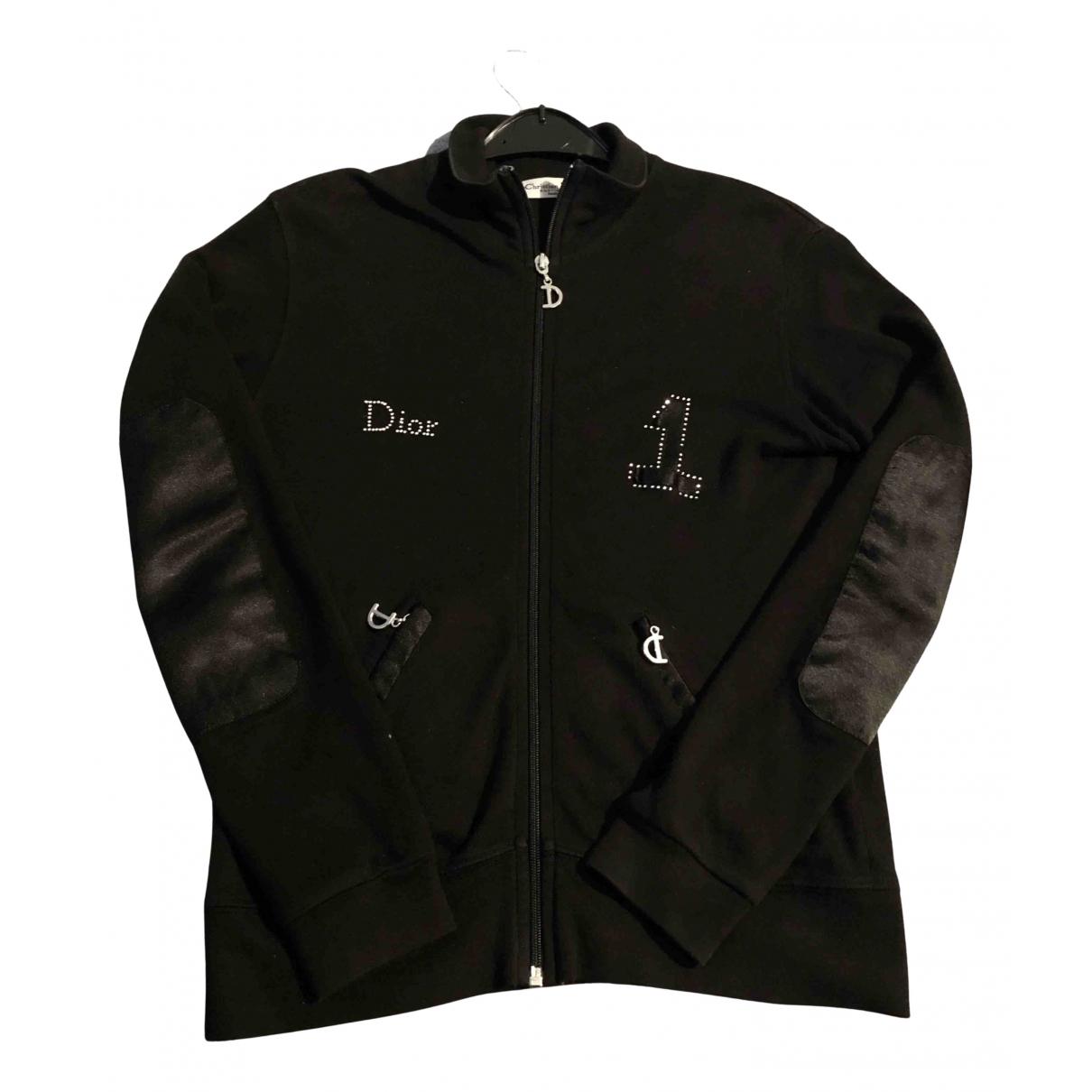 Dior \N Jacke in  Schwarz Baumwolle