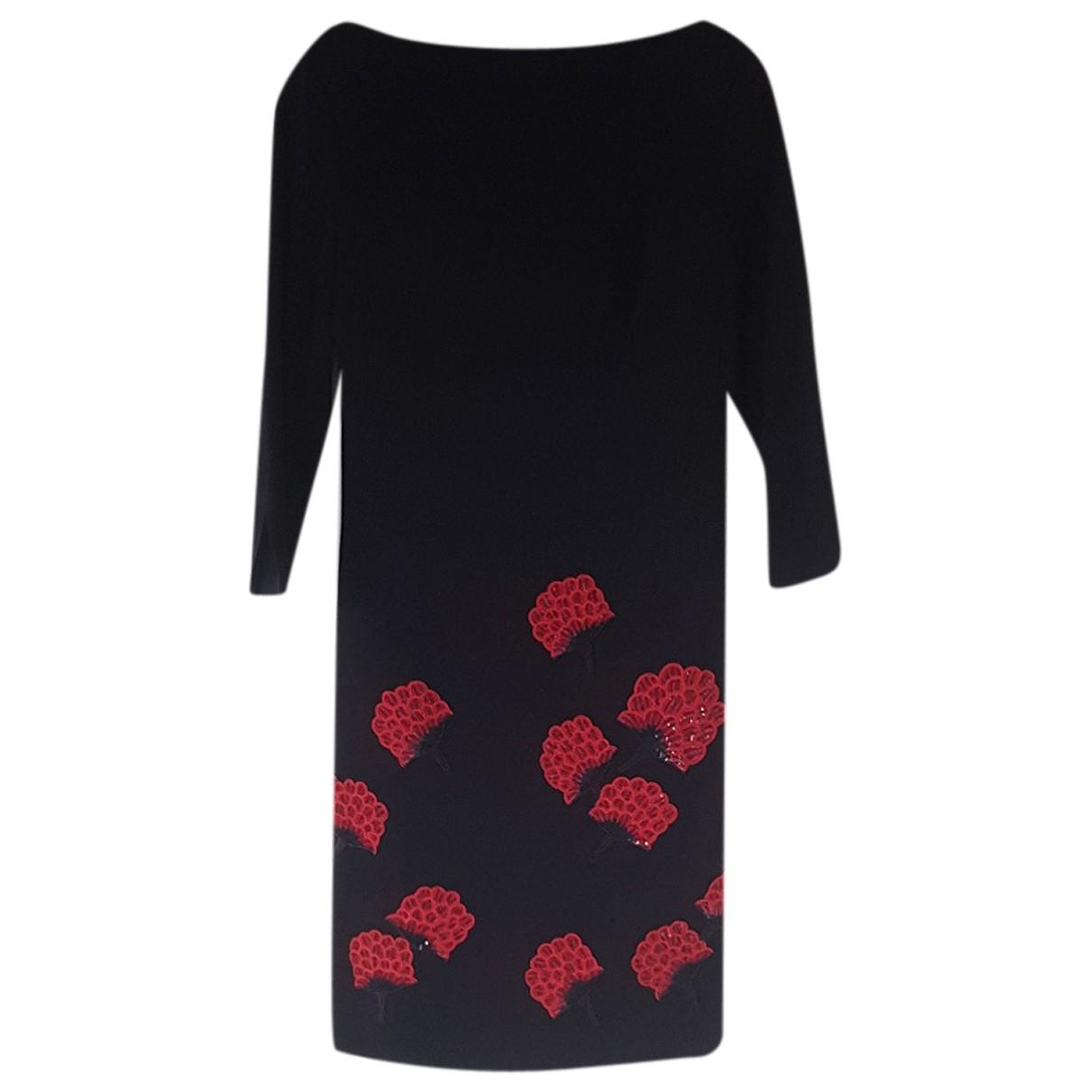 Tory Burch N Navy Wool dress for Women 10 UK