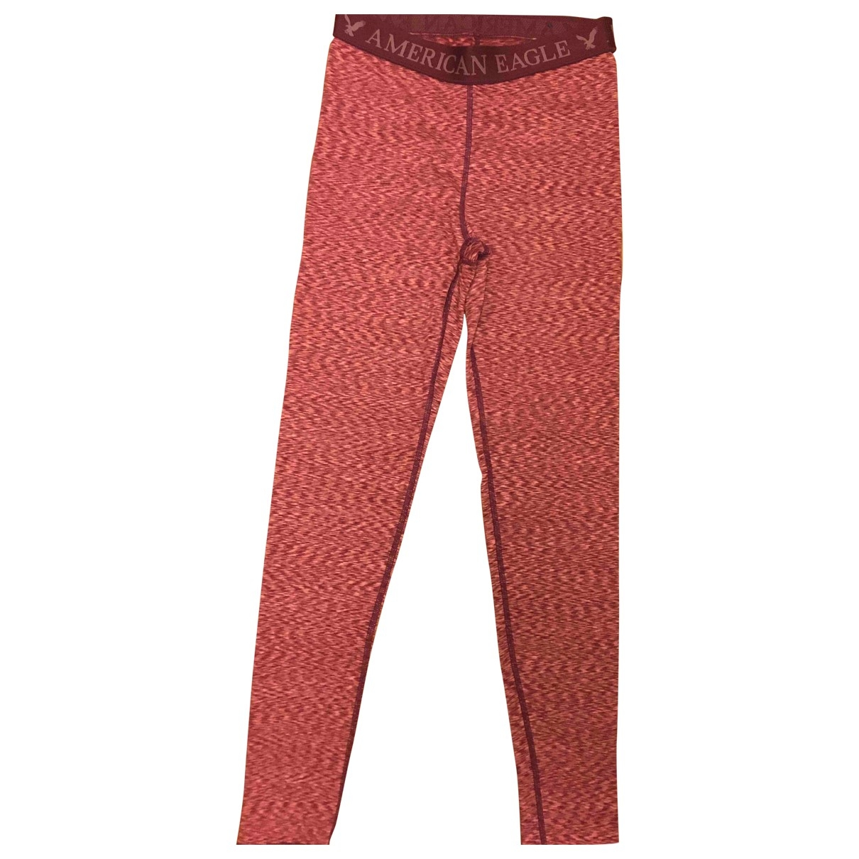 American Outfitters \N Red Trousers for Women S International