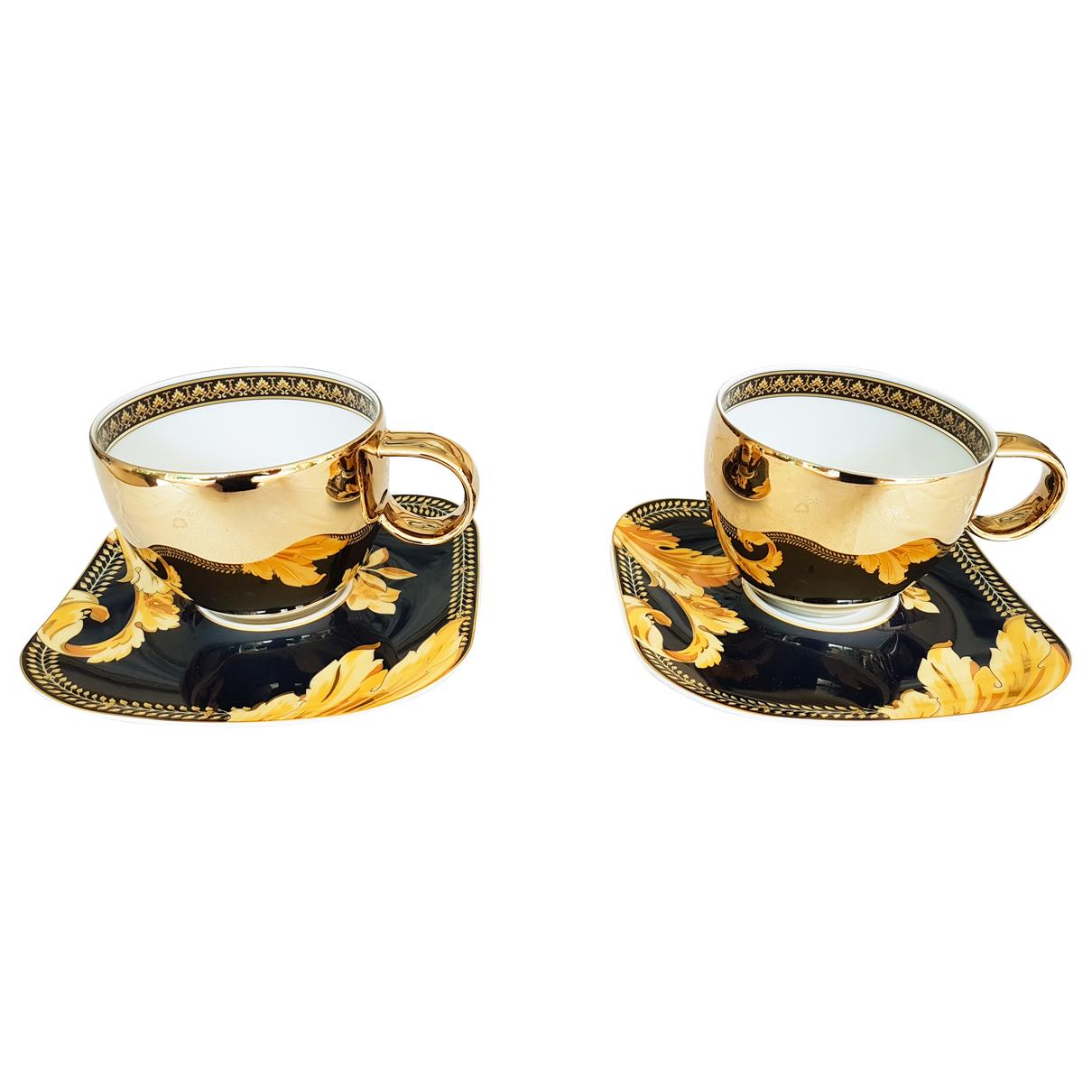 Juego de te/cafe de Porcelana Versace