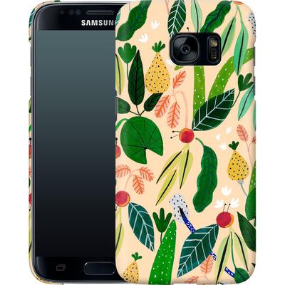 Samsung Galaxy S7 Smartphone Huelle - Tropical Greens von Iisa Monttinen