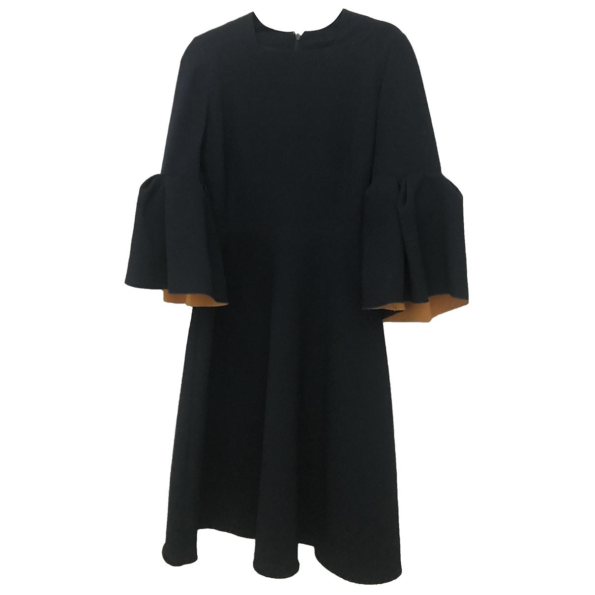 Roksanda \N Kleid in  Marine Polyester