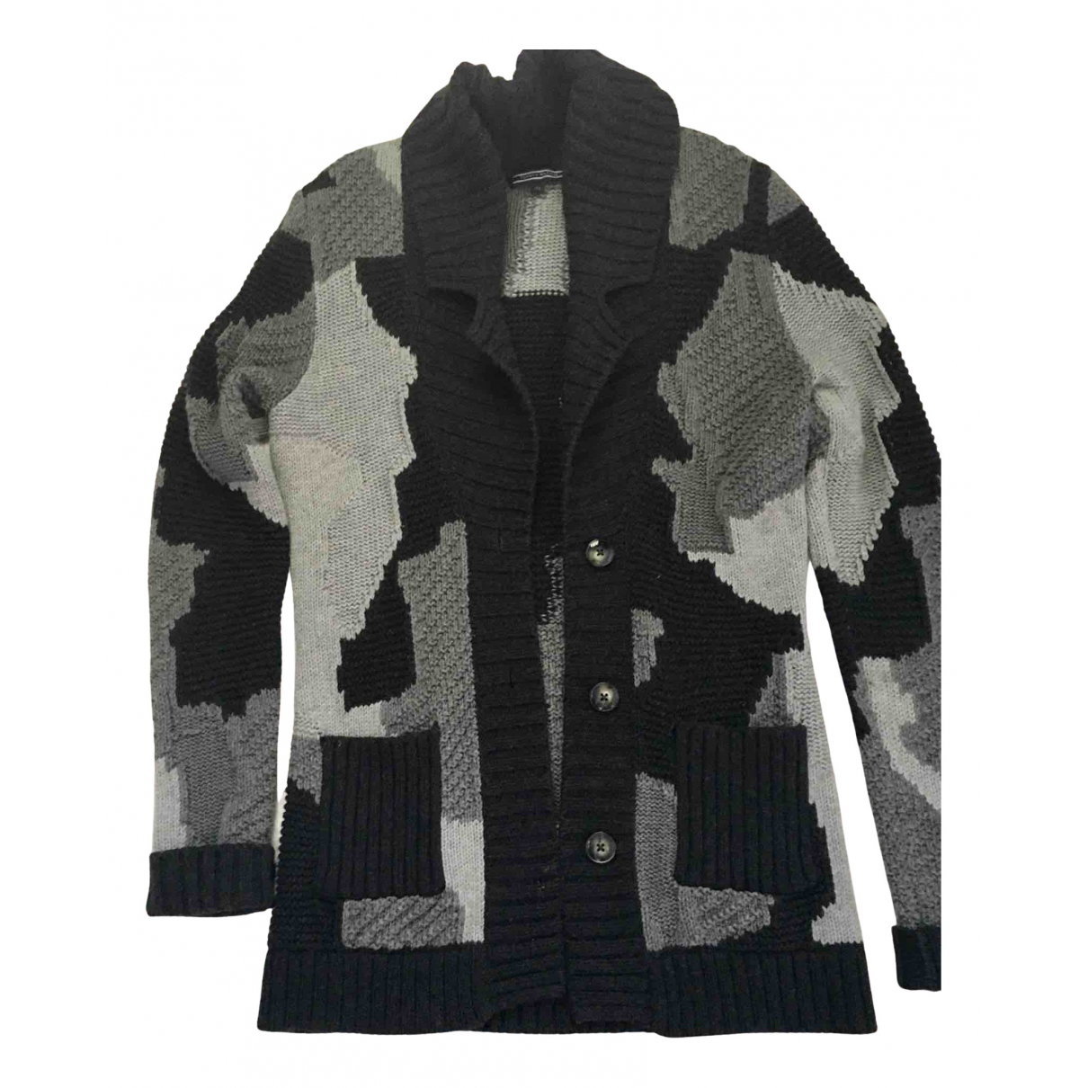 Tommy Hilfiger \N Pullover in  Grau Wolle