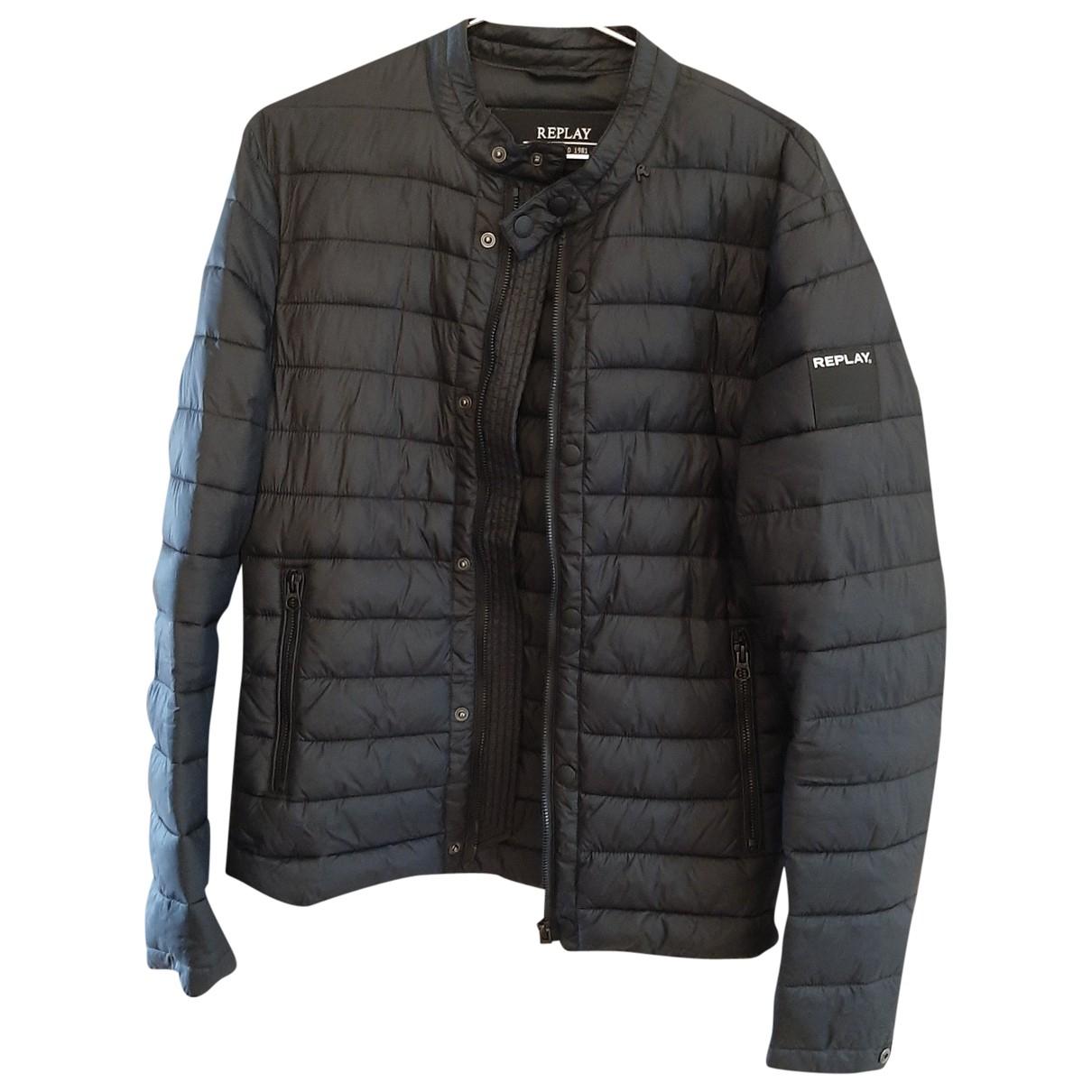 Replay N Black jacket  for Men S International