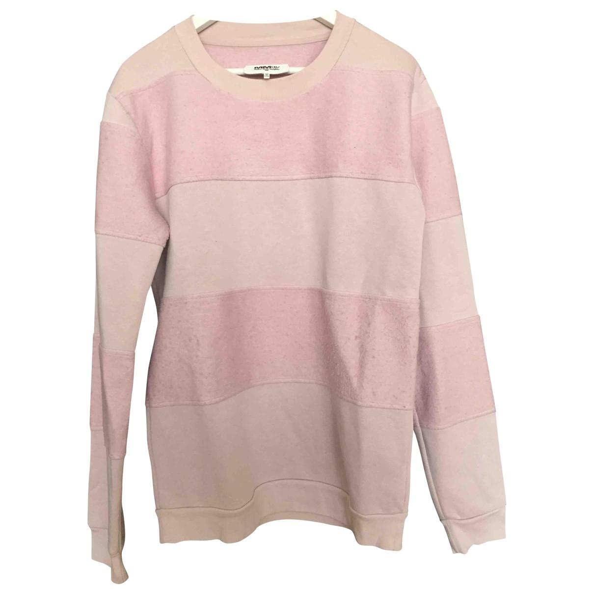 Mm6 \N Pink Cotton Knitwear for Women M International