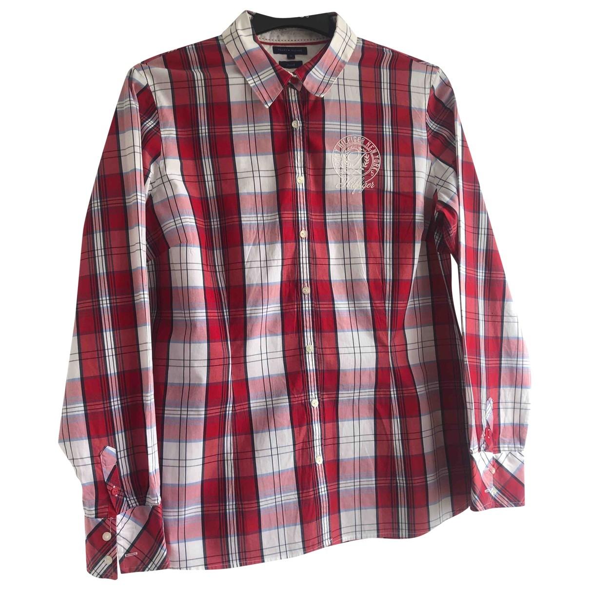 Tommy Hilfiger \N Hemden in  Rot Baumwolle