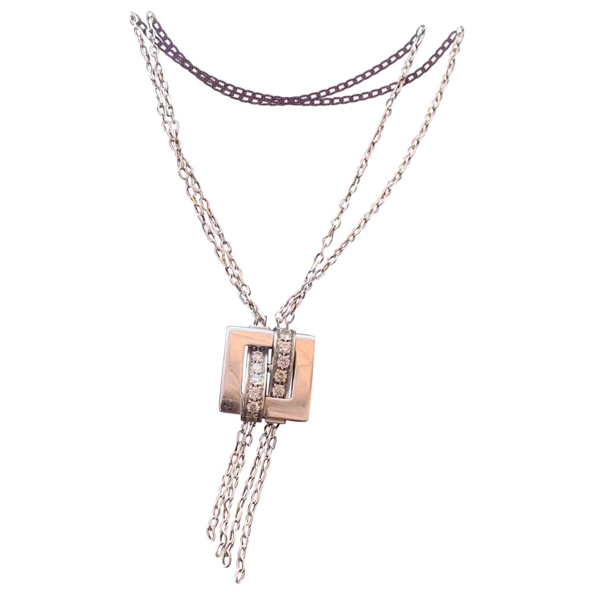 Boucheron - Collier Dechainee pour femme en or blanc - argente