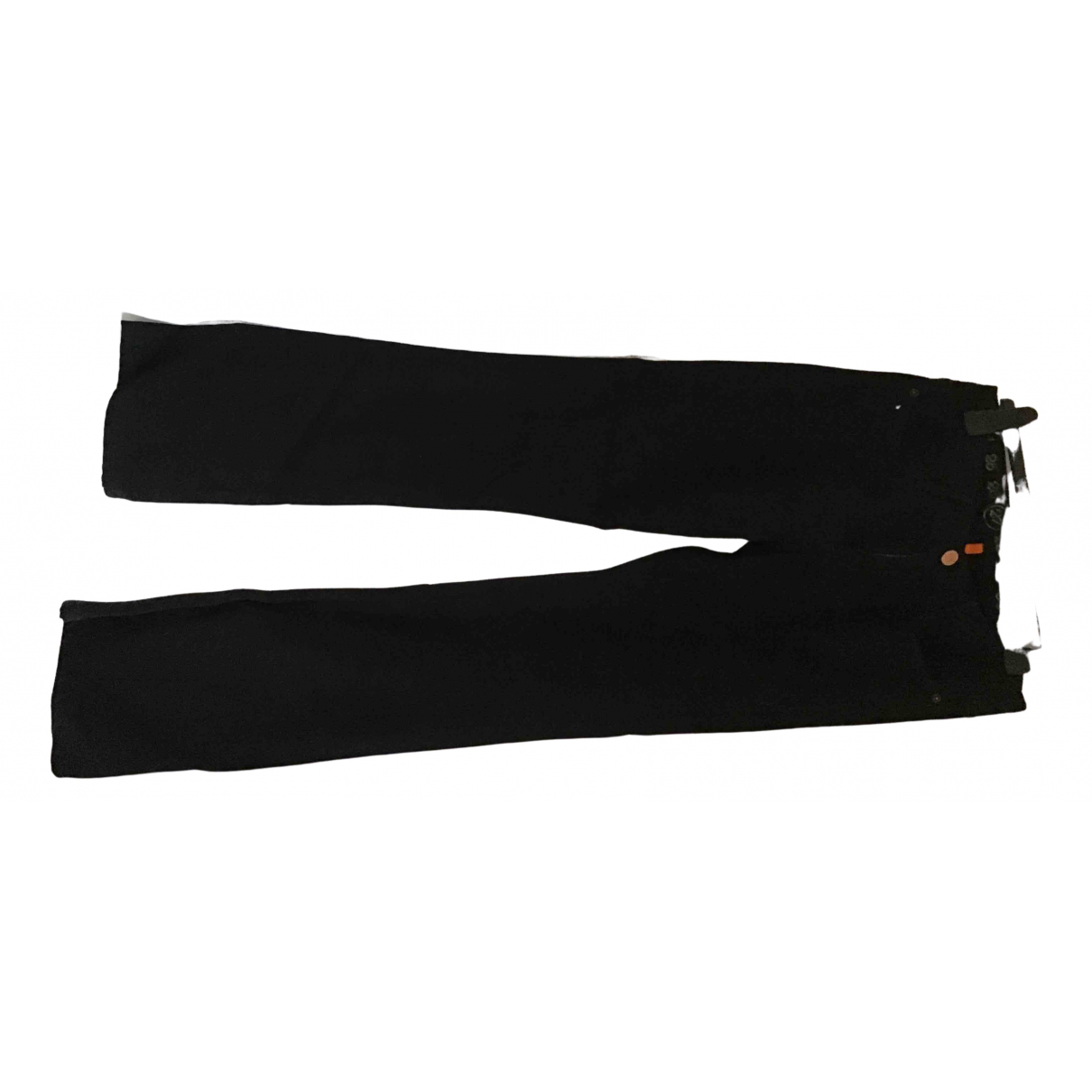 Earnest Sewn \N Black Denim - Jeans Jeans for Women 35 FR