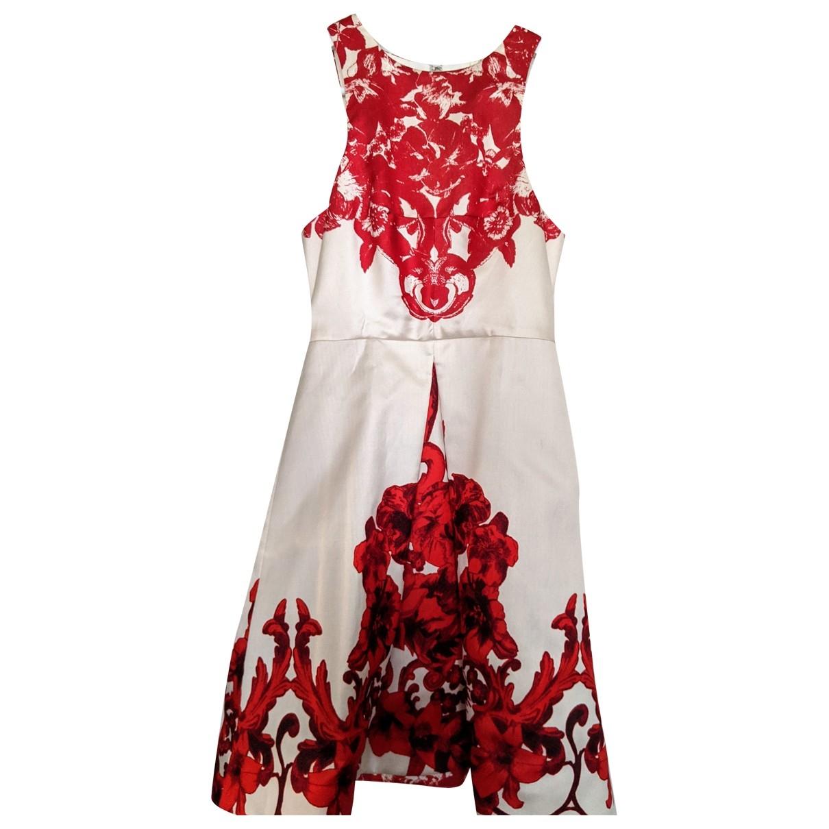 Tibi \N Kleid in  Rot Seide